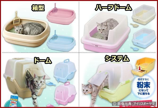 猫にトイレをしつけよう選び方とセッティング方法が1ページですべて